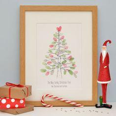 Nordic Fingerprint Christmas Tree
