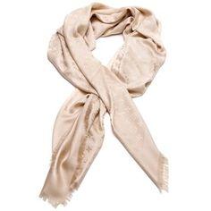 Pre-Owned Louis Vuitton Dune Monogram Silk & Wool Shawl Scarf