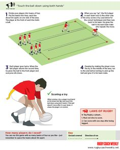 Minis rugby: Teach your players how to score a tag try Tag Rugby, Rugby Drills, Rugby Training, Smocking Patterns, Simple Nail Designs, Extreme Sports, One Sided, Scores, Liverpool