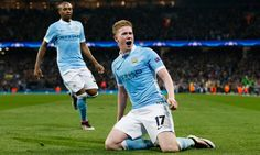 Manchester City are through to their first ever semifinal stage in the UEFA Champions league, after Kevin De Bruyne's 77′