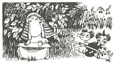 Thingumy and Bob on trial Tove Jansson, Story Characters, Fictional Characters, Moomin Valley, White Plants, Helsinki, Fairy Tales, Childhood, Troll