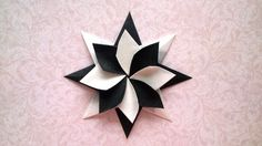 Modular Origami Star (Enrica Dray)  I cut the blocks 3 1/2 inches square - turned out perfectly!