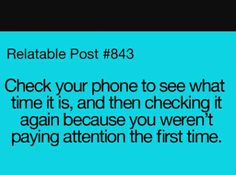 Always do this