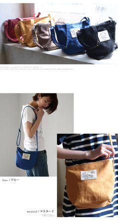 【楽天市場】【送料無料】バッグ ころんとした愛らしいサイズ感の、ミニバッグ。キャンバスミニショルダーバッグレディース/鞄/肩掛け/斜め掛け/コットン/綿/帆布/ポシェット:soulberry My Bags, Purses And Bags, Leather Bag Tutorial, Japanese Bag, Bag Packaging, Linen Bag, Little Bag, Pouch Bag, Bag Making