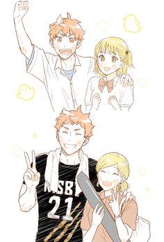 Twitter Haikyuu Manga, Hinata Shouyou, Haikyuu Karasuno, Haikyuu Funny, Haikyuu Fanart, Haikyuu Ships, Manga Anime, Kagehina Cute, Time Skip
