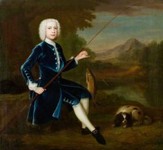 Young Man, the Young Waltonian by Arthur Devis ~ ca1750 <3