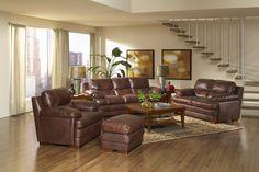 Baron Top Grain Leather Sofa   Leather Italia   Home Gallery Stores