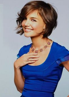 Terrific color and hair cut on Katie Holmes.