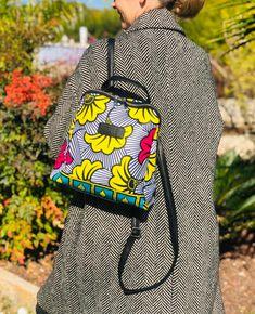 Ethnic Wedding, Geometric Graphic, Fuchsia, Christmas Gifts For Her, Make A Gift, Printed Bags, Ankara, Fashion Backpack, Wedding Flowers