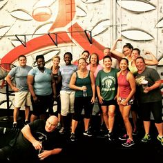 No excuses from this group of awesome people who showed up to throw down one last strength workout before the start to their holiday weekend. You guys crushed it today!