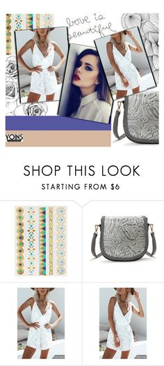 """#SummerWithYoins"" by juromi ❤ liked on Polyvore featuring yoins, yoinscollection and loveyoins"