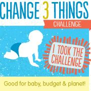 The Change 3 Things Challenge 2012 resources just became available!  Take the challenge at http://www.change3things.com, then share this image to tell the world that you've joined the revolution of moms committed to changing AT LEAST three cloth diapers per day.