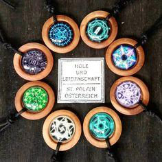 necklaces cotton, wood and glass domes - new collection . . . . . #wood #holz #handarbeit #handicraft #austria #österreich #deko #dekoration #stpölten #handmade #design #disposition #geschenk #geschenksidee #giftidea #gift #holzundleidenschaft #woodart  #personalized #stpoelten #stpölten #handmadeintheeveryday #madeinaustria  #necklace #glassdomes #woodandglass #mystic # meditation