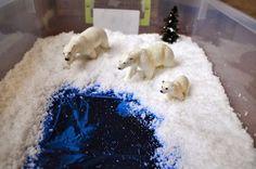 Kara's Classroom: DIY Small Snow World Godbold Godbold Astrom