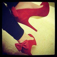 red ravishing heels.