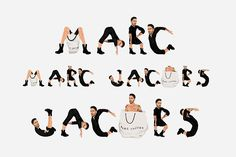 Marc Jacobs Mike Frederiqo Illustration Logo