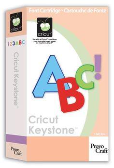 Cricut Keystone font.