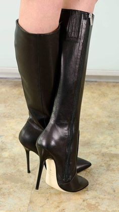 Stiletto Boots, High Heel Boots, Knee Boots, Heeled Boots, High Heels, Beige Boots, Wellies Boots, Nylons Heels, Killer Heels