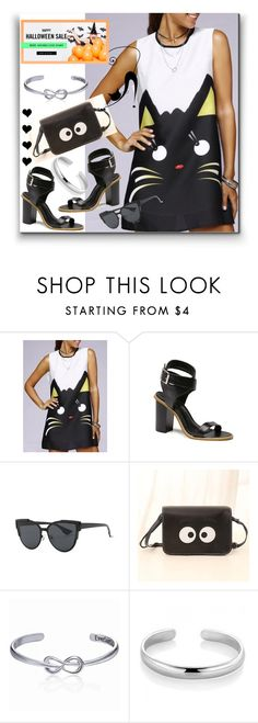 """""""HALLOWEEN WHIT - Dresslily"""" by jelena-880 ❤ liked on Polyvore"""