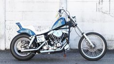 Harley Davidson Shovelhead with Crazy Frank Fender Custom Choppers, Custom Harleys, Custom Bikes, Old School Vans, Old School Chopper, Harley Davison, Bobber Motorcycle, Harley Davidson Motorcycles, Bike Life