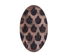SIRJA KNAAPI-FI-WORKS 2013-Cone Materials: Wenge veneer, valnut veneer, metal Size: 135x80x10mm
