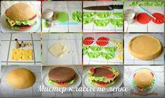 Cake hamburguesas