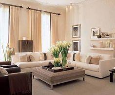 Resultado de imagen para decoracion de salas en colores tierra