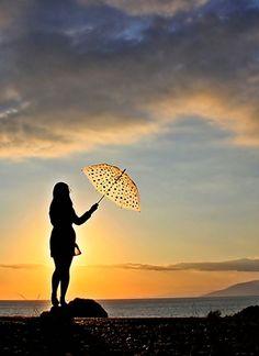 "500px / Photo ""Umbrella Girl-2. "" by Necdet Yasar"