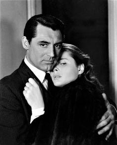 Cary Grant & Ingrid Bergman in Notorious (1946).  Dir: Alfred Hitchcock