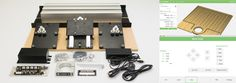 Carbide makers of The Nomad 883 and Shapeoko 3 desktop CNC machines. Diy Cnc Router, Router Bits, Plywood Furniture, Furniture Projects, Home Switch, Desktop Cnc, Digital Fabrication, Stepper Motor, Machine Design