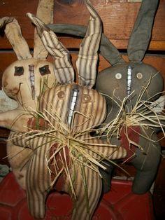 Items similar to Primitive Pattern - Bob the BuNNy rabbit - New on Etsy