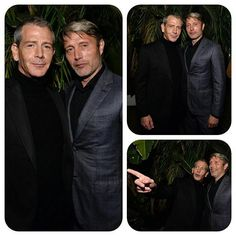 2016 GQ Men of the Year Party - Inside  Actors Ben Mendelsohn and Mads Mikkelsen attend the 2016 GQ Men of the Year Party at Chateau Marmont on December 8, 2016 in Los Angeles, California. @GettyImages #MadsMikkelsen #BenMendlelsohn #GQ #GQMenoftheYearParty2016 #ChateauMarmont #LosAngeles #California