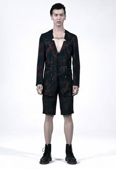 PATH SPRING/SUMMER 2013 'ARCHETYPE' - LOOK 17    https://path-homme.squarespace.com/