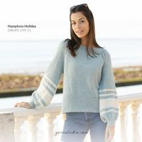 Hello Sunshine / DROPS 173-43 - Ilmaiset neuleohje DROPS Designilta Knitting Patterns Free, Free Knitting, Baby Knitting, Crochet Patterns, Crochet Diagram, Free Crochet, Knit Crochet, Drops Design, Pull Mohair