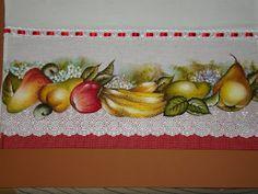 Alamanda Arte Pedagógica: Panos de prato e toalhas para lavabo