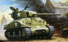 American Medium Tank: M4A3 Sherman
