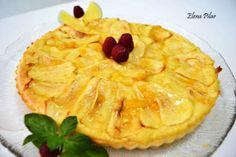 Tarta sencilla de Manzana (Sin azúcar)