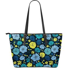 Down syndrome Awareness Leather Tote