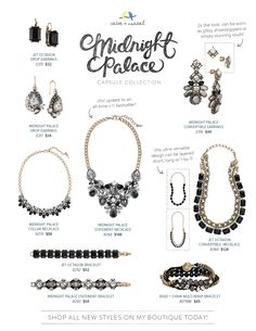 Shop our brand-new Midnight Palace capsule collection on my boutique!  https://www.chloeandisabel.com/lisahaas