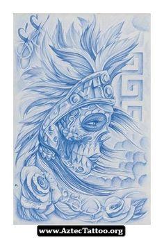 Aztec Tattoos Artist 05 - http://aztectattoo.org/aztec-tattoos-artist-05/
