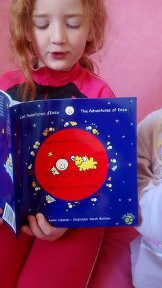 Bébé Enzo et le bébé agneau , livre bilingue français/anglais