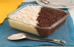 Tempo: 1h (+3h de geladeira)Rendimento: 8Dificuldade: fácil Ingredientes: 200g de coco ralado 2 latas de leite condensado 2 xícaras (chá) de leite 2 colheres (sobremesa) de maisena 3 colheres (sopa) de margarina sem sal 1 xícara (chá) de chocolate em pó 2 latas de creme de leite 50g de coco ralado para decorar 1 xícara […]