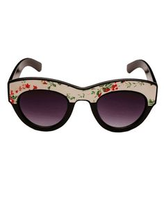 Gl@ss/Gl@sses Wh@t? / designer-bag-hub luxury womens designer oakley sunglasses hot sale Vintage Floral Print Sunglasses $17.99 |2013 Fashion High Heels|