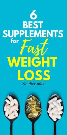 The 6 Best Supplements for Fast Weight Loss // Funes Fitness -- A fast and quick guide to the best supplements to take for losing weight. If you've hit a weight loss plateau, supplements can help you get over it! Lose Weight Quick, Quick Weight Loss Tips, Losing Weight Tips, Weight Loss For Women, Weight Gain, Reduce Weight, Rapid Weight Loss, Body Weight, Best Weight Loss Exercises
