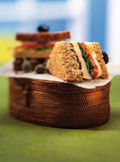 Sandwichs clubs niçois
