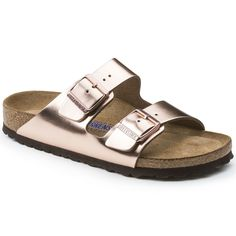 f9267a827887 BIRKENSTOCK Arizona Natural Leather Metallic Copper in all sizes ✓ Buy  directly from the manufacturer online ✓ All fashion trends from Birkenstock