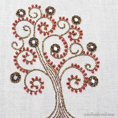 Shisha, Metallics, and Beads: You Won't Know it's a Tree