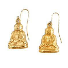 Buddha Earrings – Wendy Mink Jewelry