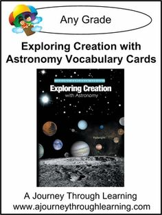 Includes cards for every lesson in the Apologia/Jeannie Fulbright book. Each lesson includes cards with a vocabulary word and a card with its matching definition. Your child matches the two cards to learn, practice, and review vocabulary. #homeschool #science