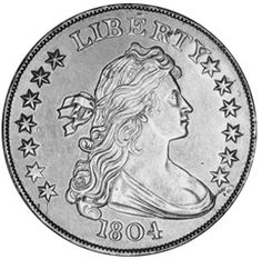 1804 Bust Silve Dollar - The Rarest Silver Dollar